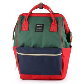 Сумка - рюкзак для мамы Красно - зеленый (код товара: 46717): купить в Berni