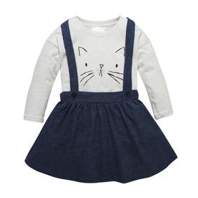 Костюм для девочки 2 в 1 Кошечка (код товара: 46842): купить в Berni