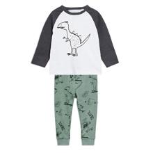 Костюм для мальчика 2 в 1 Динозавр на скейте (код товара: 46816)