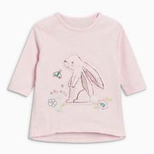 Лонгслив для девочки Кролик (код товара: 46824)