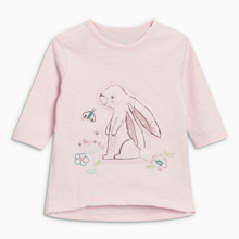 Лонгслів для дівчинки Кролик (код товара: 46824)