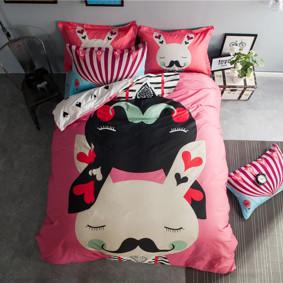 Уценка (дефекты)! Комплект постельного белья Мистер Кролик (полуторный) (код товара: 46870): купить в Berni