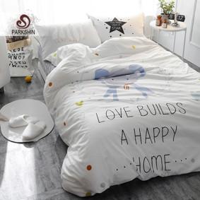 Уценка (дефекты)! Комплект постельного белья Счастливый слон (полуторный) (код товара: 46861): купить в Berni