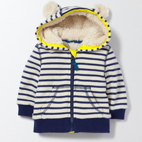 Утепленная кофта для мальчика Полосатый мишка (код товара: 46841): купить в Berni