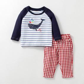 Детский костюм 2 в 1 Кит оптом (код товара: 46972): купить в Berni