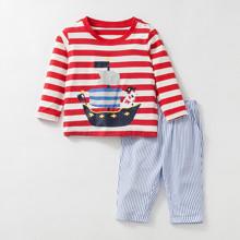 Костюм 2 в 1 для хлопчика Піратський корабель (код товара: 46976)