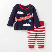 Костюм 2 в 1 для мальчика Самолет (код товара: 46977)