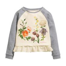 Лонгслив для девочки Цветы (код товара: 46935)