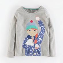 Лонгслив для девочки Снежки (код товара: 46933)