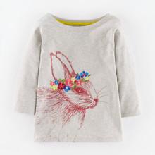 Лонгслів для дівчинки Кролик (код товара: 46931)