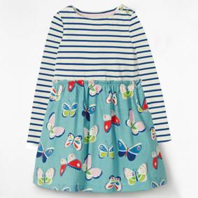 Платье для девочки Бабочки (код товара: 46984): купить в Berni