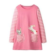 Платье для девочки Кролик и зайчик (код товара: 46982)