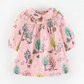 Платье для девочки Лес (код товара: 46942): купить в Berni