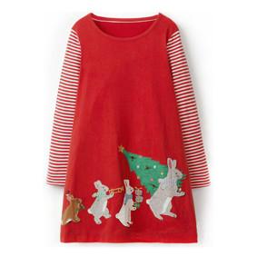 Платье для девочки Новогодняя елка (код товара: 46980): купить в Berni