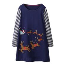 Платье для девочки Сани Санта Клауса (код товара: 46979)