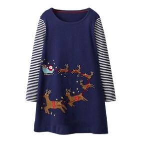 Платье для девочки Сани Санта Клауса (код товара: 46979): купить в Berni
