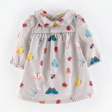 Платье для девочки Жуки (код товара: 46943)