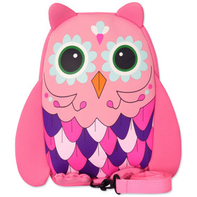 Рюкзак Сова, розовый (код товара: 46918): купить в Berni