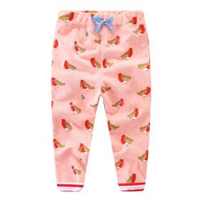 Штаны для девочки Снегири (код товара: 46989): купить в Berni