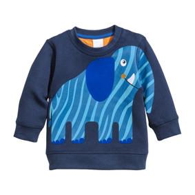 Толстовка для мальчика Синий слон (код товара: 46957): купить в Berni
