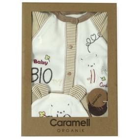 Комплект 3 в 1 из органического хлопка Caramell  (код товара: 4732): купить в Berni
