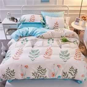 Комплект постельного белья Травы (полуторный+) (код товара: 47050): купить в Berni