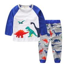 Костюм для мальчика 2 в 1 Динозавры (код товара: 47013)