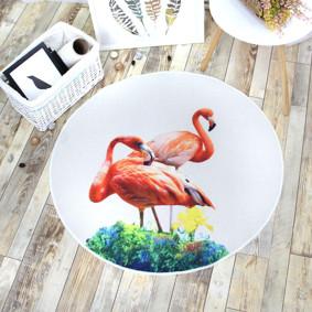 Коврик Фламинго 100 х 100 см оптом (код товара: 47018): купить в Berni