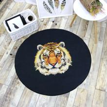 Коврик Тигр 100 х 100 см (код товара: 47021)