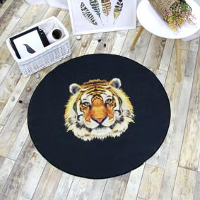Коврик Тигр 100 х 100 см оптом (код товара: 47021): купить в Berni