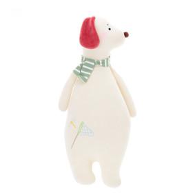 Мягкая игрушка - подушка Белый пес, 50 см (код товара: 47084): купить в Berni
