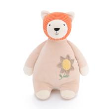 М'яка іграшка Бежевий ведмедик, 28 см оптом (код товара: 47087)