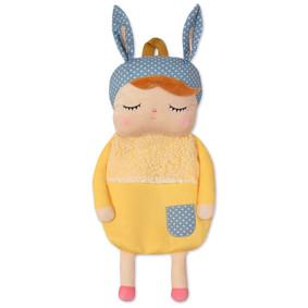 Рюкзак Девочка крольченок, желтый оптом (код товара: 47071): купить в Berni
