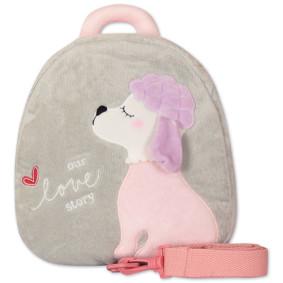Рюкзак История любви, серый оптом (код товара: 47076): купить в Berni