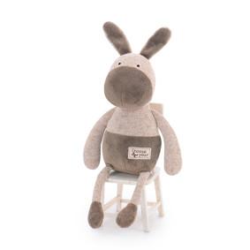 Мягкая игрушка Коричневый ослик, 33 см (код товара: 47116): купить в Berni