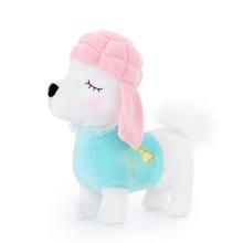 Мягкая игрушка Пудель в бирюзовом, 29 см (код товара: 47125)