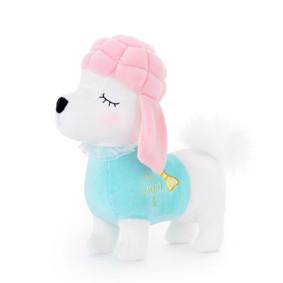 Мягкая игрушка Пудель в бирюзовом, 29 см (код товара: 47125): купить в Berni