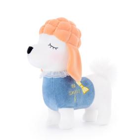 Мягкая игрушка Пудель в синем, 29 см (код товара: 47126): купить в Berni