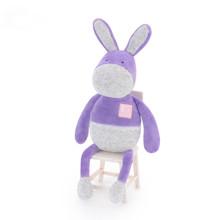 Мягкая игрушка Пурпурный ослик, 33 см оптом (код товара: 47117)