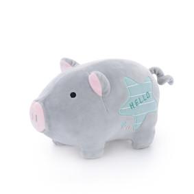 Мягкая игрушка Серый поросенок, 22 см (код товара: 47120): купить в Berni
