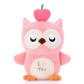 Мягкая игрушка Волшебная розовая сова, 20 см (код товара: 47167): купить в Berni