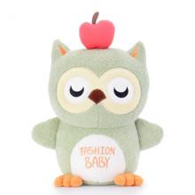 Мягкая игрушка Волшебная зеленая сова, 20 см (код товара: 47168)