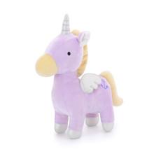 М'яка іграшка Бузковий єдиноріг, 23 см оптом (код товара: 47189)
