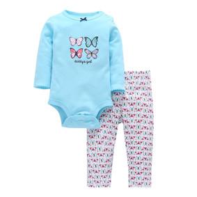 Комплект для девочки 2 в 1 Бабочки (код товара: 47238): купить в Berni