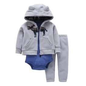 Комплект для мальчика 3 в 1 Лось (код товара: 47242): купить в Berni