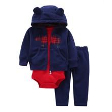 Комплект для мальчика 3 в 1 Медведь (код товара: 47241)