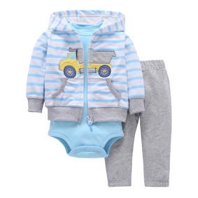 Комплект для мальчика 3 в 1 Самосвал (код товара: 47247): купить в Berni
