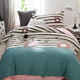 Комплект постельного белья Медведь (полуторный) (код товара: 47261): купить в Berni