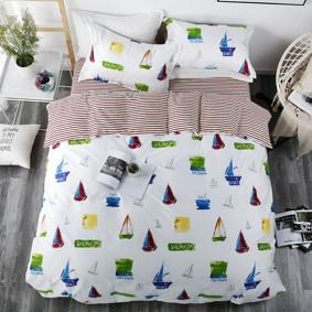 Комплект постельного белья Море (двуспальный-евро) (код товара: 47283): купить в Berni