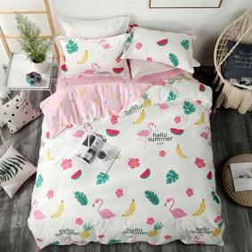 Комплект постельного белья Привет, лето! (двуспальный-евро) (код товара: 47287): купить в Berni